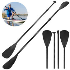 4-Piece Dual Purpose Adjustable SUP Paddle Kayak Boat Stand Up Board Aluminum