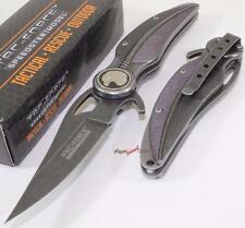 TAC-FORCE Stonewash Eagle Feather Spring Assisted Opening Folding Pocket Knife