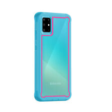 For Samsung Galaxy A71 4G Non-Slip Protective Hard Case Hybrid TPU Bumper Cover