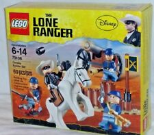 SEALED 79106 LEGO Lone Ranger Disney movie CAVALRY BUILDER SET 69 pc RETIRED set
