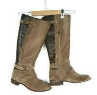 UGG Australia Womens Shearling Tall Fawn Cydnee Boots Size 7 Brown Suede Knee