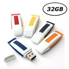 32GB USB 2.0 Flash Memory Stick Data Storage Thumb Pen Drive U Disk Novel Gift