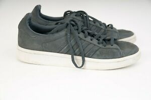 adidas Campus Stitch And Turn Sneakers / Trainers - Grey Suede- Men's US 7