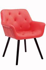 Besucherstuhl Cassidy Coffee Praxis Wartezimmer Stuhl rot