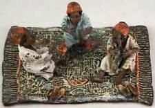 Vintage Orientalist Austrian Vienna Bronze Cold Painted Arab Men Playing Music
