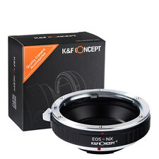 K&F Conceot Adapter Ring for Canon EOS EF Lens to Samsung NX Mount Camera