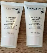 Lot 2 Lancome Absolue Hand Premium Bx Spf15 cream 1oz 30ml each = 2oz 60ml