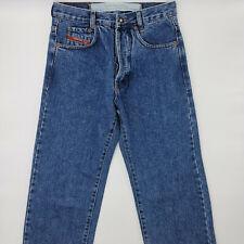 Diesel W26 L32 blau Herren Designer Denim Jeans Hose Vintage Retro Italien Mode