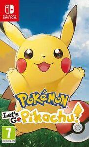 Pokemon Let's Go, Pikachu! Nintendo Interrupteur Nintendo