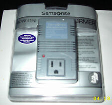 4-065Samsonite 60 Watt Step Down Transformer Model 3983 Gray New