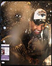 CC Sabathia Signed 16x20 New York Yankees JSA COA Inscription