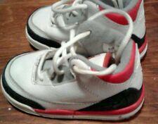 Jordan 3 Fire Red Baby Sneakers