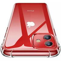 FALLSCHUTZ Schutzhülle Silikon Handy Hülle iPhone 7 8 X XS XR 11 12 Pro Max Mini
