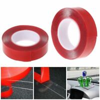 High Strength Double Side Clear Transparent Acrylic Adhesive Tape Home Car Fix L