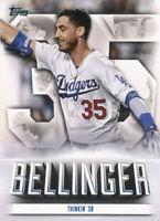 Cody Bellinger 2021 Topps Series 1 Highlights #TE-23 Insert Dodgers