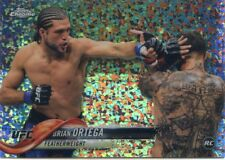 2018 Topps UFC Chrome BRIAN ORTEGA RC Diamond Hot Box Refractor Rookie #79 SP
