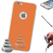 iPhone 6 / 6s Coque De Protection En Silicone Sac Housse étui Miroir Cuivre