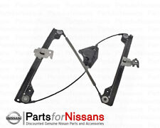 Genuine Nissan 2009-2014 Maxima Driver Left Front Door Window Regulator NEW OEM