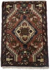 Small Tribal Handmade Tiny 1'4X2 Wool Vintage Area Rug Oriental Kitchen Carpet