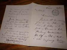 1870.Lettre autographe..Leon Melchissedec (opera)