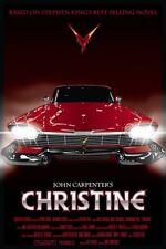 "Christine 1983 Classic Movie Art silk poster print 12X18"" 24X36"" home decor"