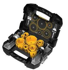 New DEWALT D180005 14 Piece Master Hole Saw Kit Set Multi Purpose