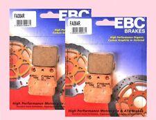 2x establece EBC FA084 Tt Delantero Pastillas De Freno Para Suzuki Ltz LT-Z 250 & LT-Z 400 2003-12