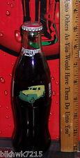1996 HOT AUGUST NIGHTS RENO 96 GREEN & YELLOW VAN 8OZ GLASS COCA  COLA   BOTTLE