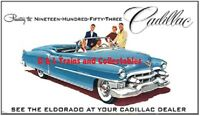 Billboard for Plasticville Holder 1953 Cadillac Eldorado