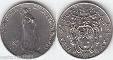 V13,  VATICANO VATICAN CITY PIO XI  1 LIRA  1936  XV ,  KM# 5  ,  SPL+ /  XF+