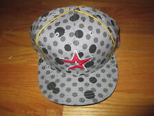 New Era 59 FIFTY HOUSTON ASTROS (Size 7 1/2) Cap INK SPOTS Design
