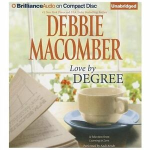 Debbie Macomber LOVE BY DEGREE Unabridged CD *NEW* FREE Shipping!