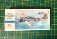 HASEGAWA 1/72 MITSUBISHI A6M2b TYPE 21 Zero Fighter Model Kit Rare UK Stock
