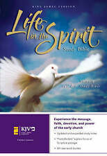 KJV, Life in the Spirit Study Bible, Hardcover, Red Letter Edition: Formerly Ful