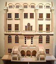 1/12 scale Dolls House  The Buckingham Grand House  16 room House Kit