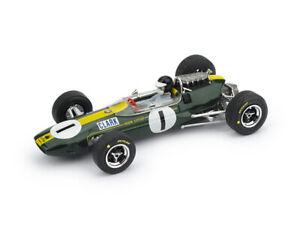 Lotus 33 Gp Germania 1965 1° Jim Clark #1 +Pilota WC F1 Brumm 1:43 R592-CH Model