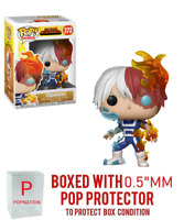 "Funko Pop My Hero Academia : Todoroki #372 Vinyl Figure w/0.5mm Case ""MINT"""
