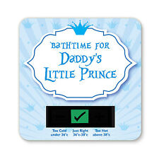 BABY BATH THERMOMETER - DADDYS LITTLE PRINCE DESIGN
