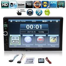 "7"" 2 Din Bluetooth Car Stereo Radio Mp3 Mp5 Player Tf Fm Usb Android Mirror Link"