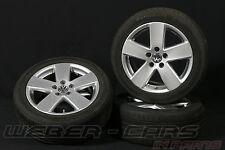 Orig VW Passat 3C 17 Zoll Alufelgen Komplett Räder CONTI Sommerreifen 235 45 R17