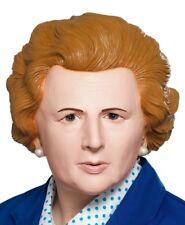 AÑOS 80 Iron Lady Margaret Thatcher Máscara de Disfraz Cabeza Látex Máscara