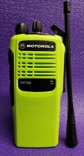 Motorola Ht750 Package Uhf 450-527 Mhz 16Ch Free Programming Charger Included