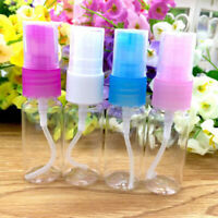 10X 10ML Empty Mini Plastic Perfume Transparent Atomizer Spray Bottle Travel_UK