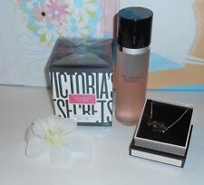 "Victoria's Secret ""Love Me"" Eau De Parfum + Body Mist + ""Love Me"" Necklace NEW"