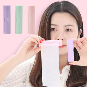 5M Facial Oil Blotting Sheet Paper Cleaning Oil Control Absorbent Roller Make FT