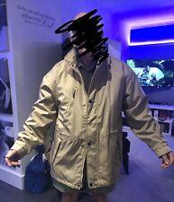 Abrigo para Hombre De Invierno/lluvia de verano grandes forro extraíble BEIGE Usado Una Vez