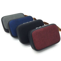 UK Stock - Cloth covered Bluetooth and USB speaker - amazing value and power