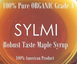 CERTIFIED USDA Organic 100% PURE Natural MAPLE SYRUP Grade A 8 16 32 oz Lb Quart