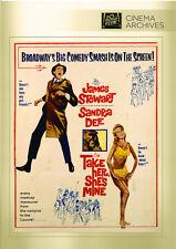Take Her, She's Mine 1963 (DVD) James Stewart, Sandra Dee, Audrey Meadows - New!