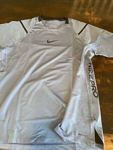 Nike Men's Pro Aeroadapt Compression Training Shirt  XL Blue  BV5510-427